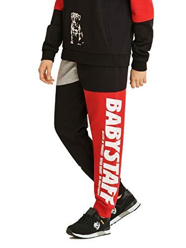 Babystaff Aruna Sweatpants Frauen Jogginghose - schwarz/rot S