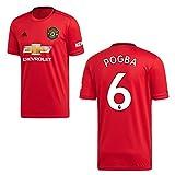 adidas Manchester United Trikot Home Kinder 2020 - Pogba 6, Größe:152
