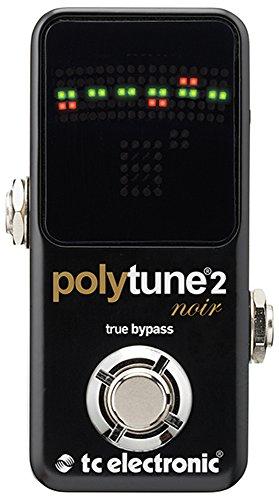 TC Electronic PolyTune 2 Noir - accesorios para guitarra (Tuner, Negro, LED)