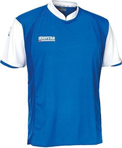 Derbystar Trikot Primera Kurzarm, M, blau weiß, 6162040610