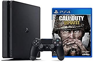 Playstation 4 Slim 1TB Console + Call of Duty : WWII Bundle ( 2 - Items )