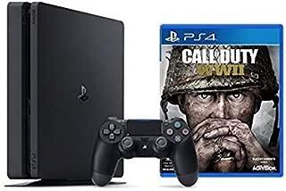 Playstation 4 Slim 1TB Console + Call of Duty : WWII Bundle ( 2 - Items )