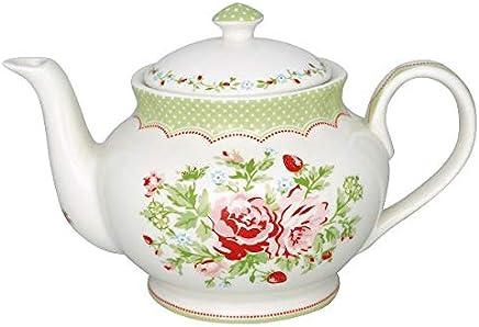 Preisvergleich für GreenGate- Teekanne/Teapot - Mary White Round