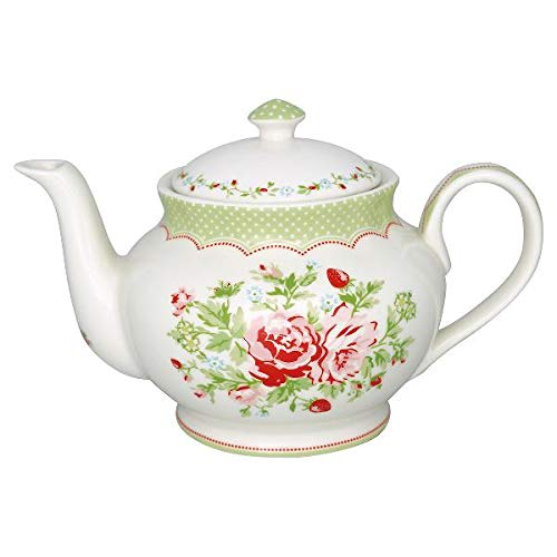 GreenGate- theepot/teapot - Mary White Round