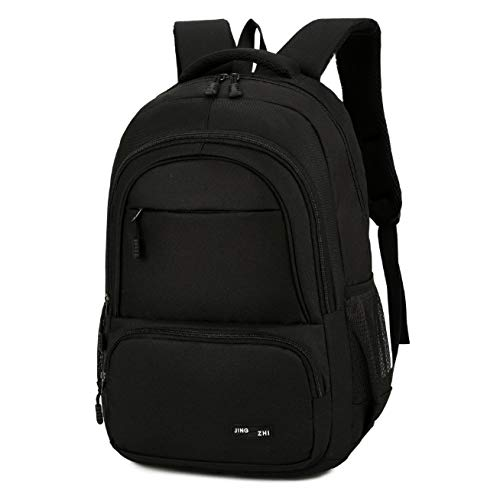 Rugzak schouder handtas zwart student reizen outdoor schooltas computertas mode vrije tijd grote capaciteit waterdicht multifunctioneel draagbaar