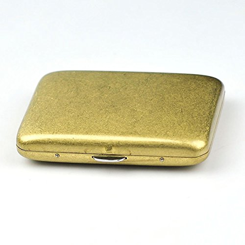 Kywa Pure Brass Cigarette Herbal Cigarette Cigar Tobacco Carrying Stash Storage Case