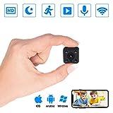 Caméra Espion, PiAEK Mini Camera,1080P HD Camera Surveillance WiFi sans Fil avec...