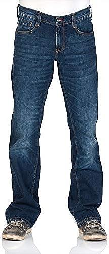 MUSTANG Herren Jeans Oregon - Stiefelcut - Blau - Light Blau - Mid Blau - Dark Blau - Black