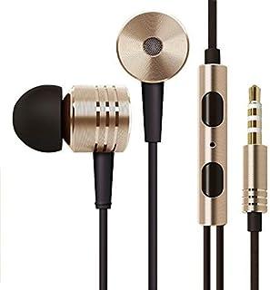 تشاومي مي بيستون V2 ان-سماعات سلكية مع ميكرفون للهواتف الذكية اندرويد – ذهبي