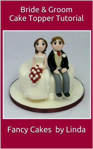 Bride & Groom Cake Topper Decorating Tutorial