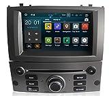 Sunshine Fly Android 8.0 Pantalla táctil Navi Radio de Coche GPS estéreo para Peugeot 407 2004-2010