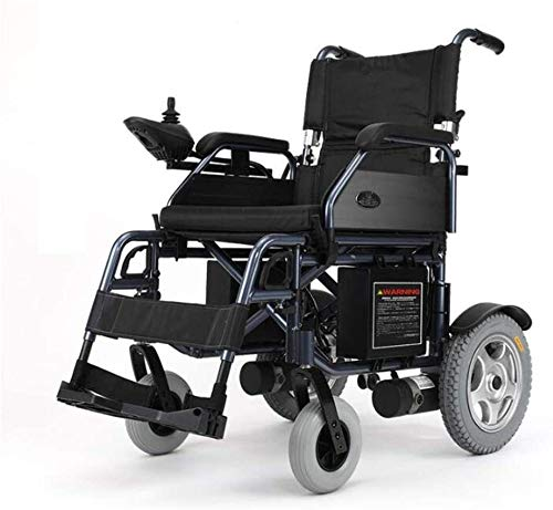 Yuzhonghua Sillas de Ruedas eléctricas Inteligentes de Empuje/Motor se Pueden conectar fácilmente Plegable (batería 20A Litio Ion) Usado Las sillas de Ruedas de Viajes Cuidado de Ancianos