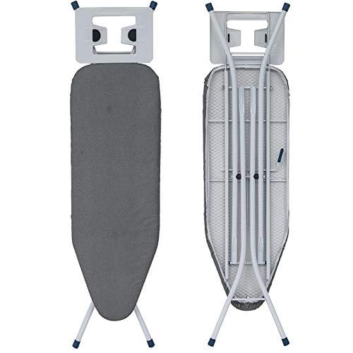 WOLTU BGT01gr Bügeltisch Bügelbrett für Dampfbügeleisen höhenverstellbar