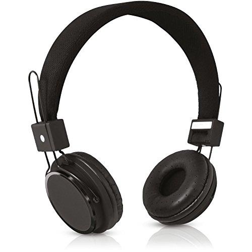 V7 HS2000-35-BLK-9EC Ultraleichtes Stereo-Headset - Schwarz