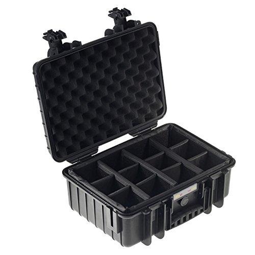 Ultralyt Maleta estanca 4000 - Velcro compartimentado (RPD), Negro, Sin Accesorios
