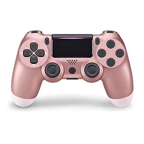 Mando para PS4, Controlador Inalámbrico para PS4, controlador PS4 para Playstation 4/PS4 Slim/PS4 Pro, mando de gamepad con doble vibración, sensor giroscópico de 6 ejes, función de audio