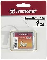 Transcend 133X - Tarjeta de memoria CompactFlash de 1 GB