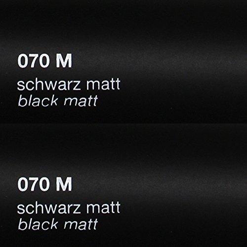 8,25€/m² Oracal 751c - 070M Schwarz Matt - Klebefolie - 5m x 63cm - Folie - Moebelfolie - Plotterfolie - Selbstklebend - gegossen - cast