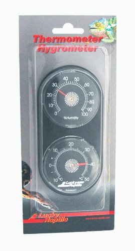 Lucky Reptile LTH-20 thermometer, Thermometer en hygrometer.