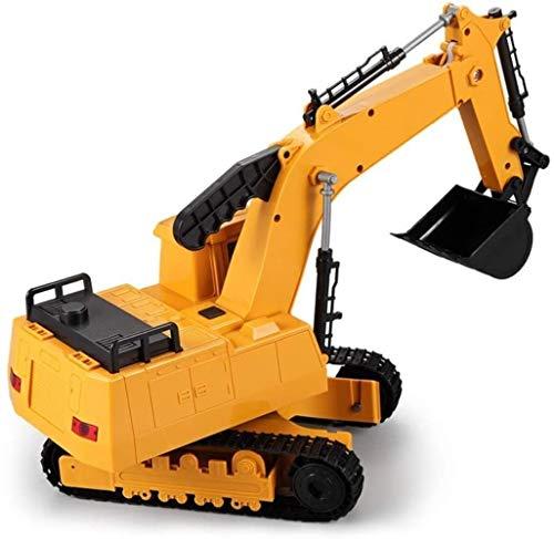 HXR 1:20 Die-cast metal juguete aleación coche excavadora orugas simulación ingeniería vehículo modelo niño niña Cognitive Collection regalo juguete coches y camiones