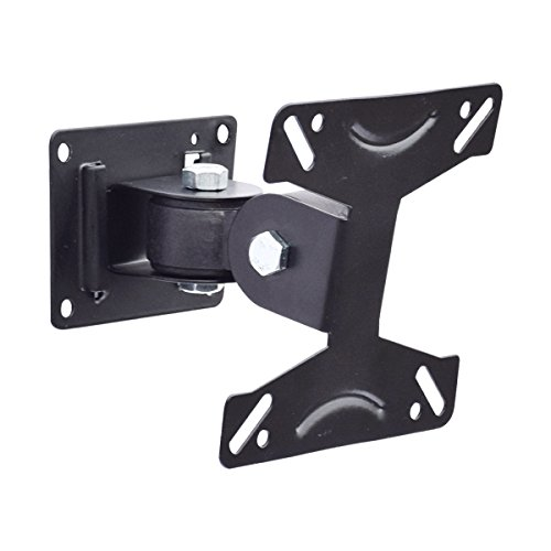 MX LCD TV Wall Mount Stand for 14 Inch To 27 Inch, 180 Degree Rotation LED Bracket Power Revolving