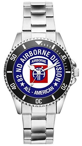 KIESENBERG - Geschenk US Army Veteran Military Soldat 82nd Airborne Division Uhr 6502