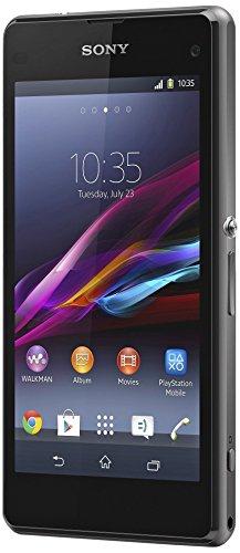 Sony Xperia Z1 - Smartphone Libre Android (Pantalla 4.3', cámara 20.7 MP, 16 GB, Quad-Core 2.2 GHz, 2 GB RAM), Negro (Importado)
