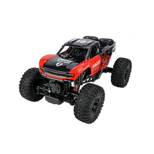 Lihgfw RC Off-Road-Fernbedienung Auto Off-Road-Fahrzeug 2.4GHz Off-Road-Fahrzeug-Buggy-elektrisches Spielzeug für Kinder Jungen (Color : Rot)