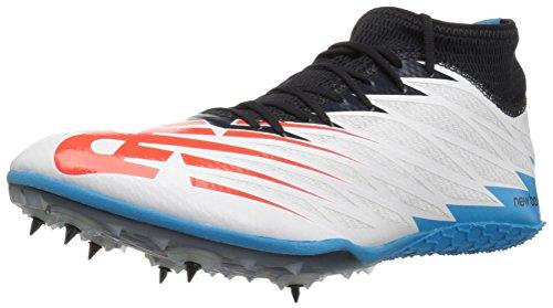 New Balance SD100v2, Zapatillas para Correr para Hombre, Blanco y Negro, 44 EU