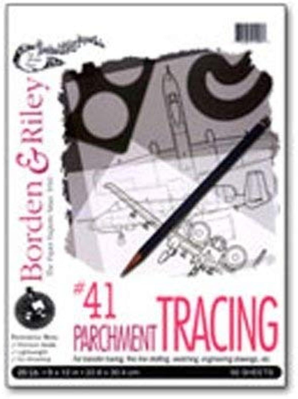Borden & & & Riley 41 - Transparentpapier - 15 cm x 23 cm - 500 Blatt B004O7C4GS   Billig ideal  99dece