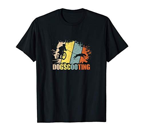 Dogscooting Geschenk für einen Dogscooter und Hundebesitzer T-Shirt