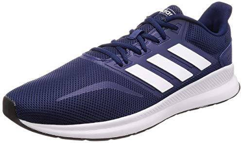 adidas Herren Runfalcon Laufschuhe, Blau (Dark Blue/Footwear White/Core Black 0), 43 1/3 EU