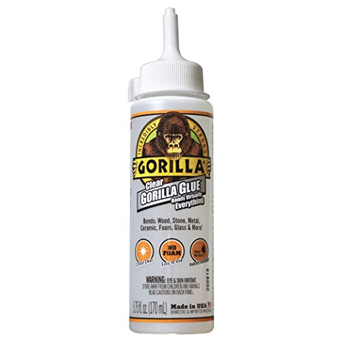 Gorilla Clear Glue, 5.75 ounce B...