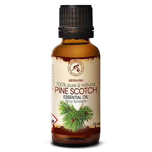 Dennennaald Olie Essentieel - Pine Scotch 30ml - Pinus Sylvestris - Oostenrijk - 100% Natuurlijk - Frisse Naaldgeur - Dennenolie Goed voor Wellness - Aromatherapie - SPA - Diffuser & Lamp