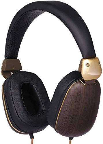 Betron HD1000 On Ear Headphones, Bass Driven Sound With Powerful Acoustics and Enhanced Clarity, Includes 3.5mm Gold Plated Connector and Comfortable Earpads, Black