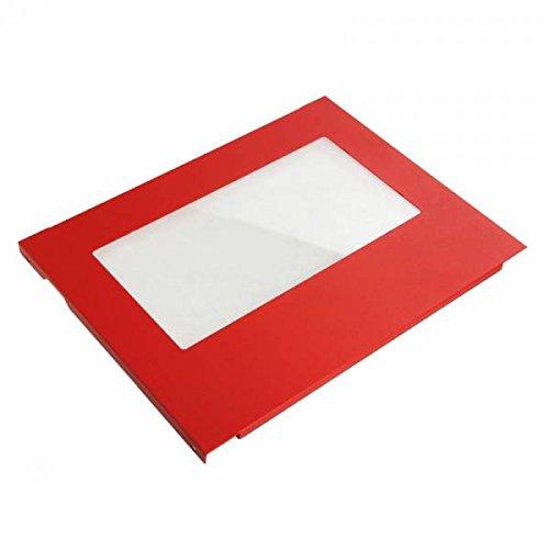 BITFENIX Prodigy Mini-ITX Window-Seitenteil - Red