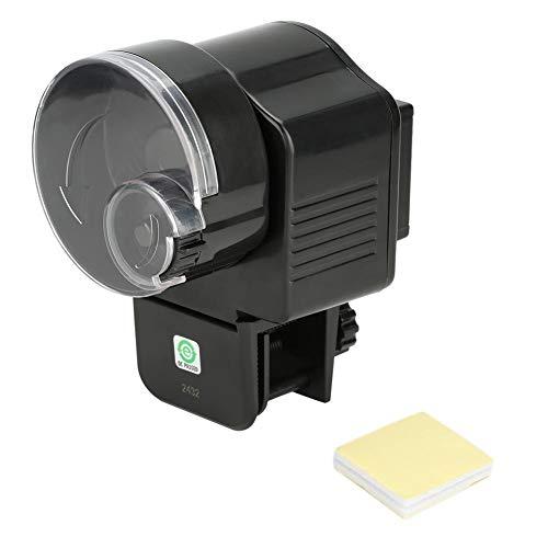 Oumefar Dispensador de Comida para Peces de Estilo único, alimentador automático de Acuario para Escamas Sueltas para pecera
