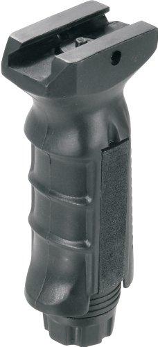 UTG taktischer Gewehr Frontgriff, beidhändig, vertikal, zur Montage auf Weaver/Picatinny Schiene, Schwarz RB-FGRP168B