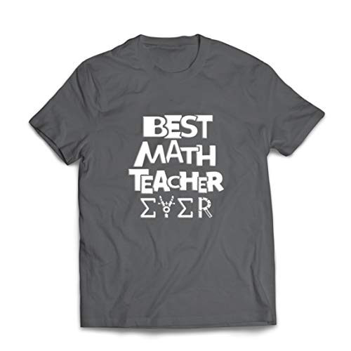lepni.me Camisetas Hombre El Mejor Profesor de matemáticas de Todos los Tiempos Tutor de matemáticas