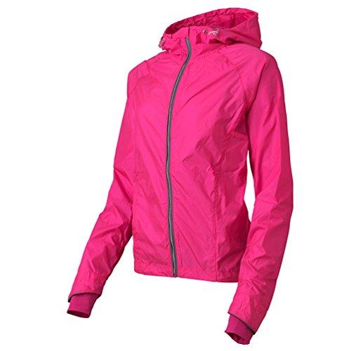 Casall Damen Modern Trainingsjacke Pink Pink Glow Gr. Medium, Pink Glow