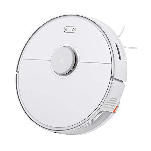 Roborock S5 MAX Robot Vacuum and Mop, Robotic Vacuum Cleaner with E-Tank, No-mop Zones, Lidar Navigation, Selective Room Cleaning, Super Powerful Suction