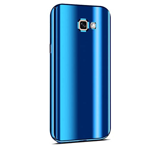 Beryerbi Funda Samsung Galaxy S7 Edge, 3 en 1 PC Hard Carcasa 360 ° Complete Protection Ultra-Delgado Anti-Arañazos Caso Original Sentir para Samsung Galaxy S7 Edge (Azul)