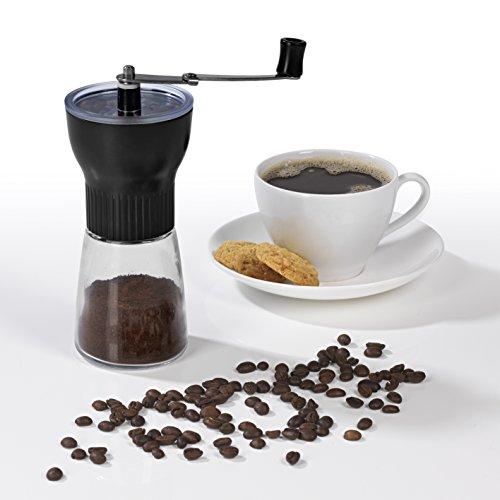 GOURMETmaxx Kaffeemühle schwarz