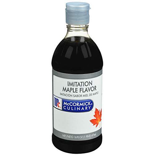 McCormick Culinary Imitation Maple Flavor, 16 fl oz