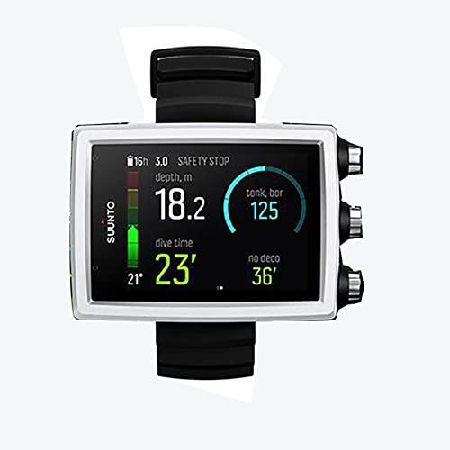 Monitor per decompressione aria,Bluetooth, modalità misuratore aria/nitrox, monitoraggio automatico dei parametri, Professionale da Polso per Immersioni Aria/Nitrox, Modalita Profondimetro (WHITE)