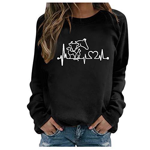 Damen T-Shirts Slim Fit Tshirt Sexy Bluse Cold Shoulder Basic Shirt Drucken Blusen Pailletten Spitzenspleißen V-Ausschnitt Tops Kurzarm Tee Mode Tunika Teenager Mädchen Sommer Ka(Black, XXL)