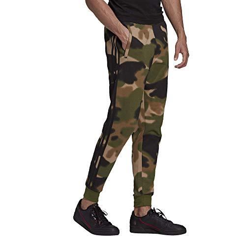adidas Originals,mens,Camo All Over Print Pants,Wild Pine/Multicolor/Black,X-Small