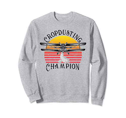 Cropdusting Champion American Veterans Day Father Gifts Sudadera