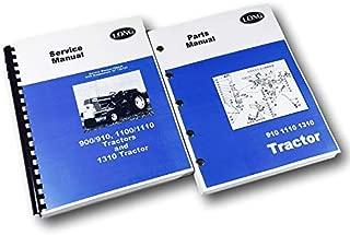 Long 910 1110 1310 Tractor Service Repair Manual Parts Catalog Set