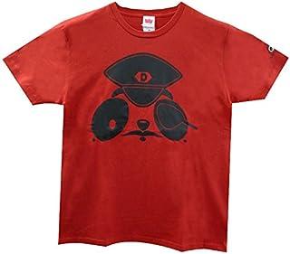べぃびーにこぱんだ Tシャツ (130cm, AP-003 Red)